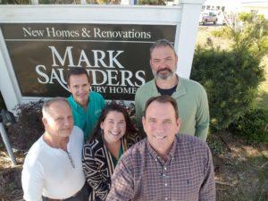 team at mark saunders homes